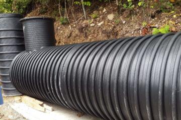 Horizontalni plastični rezervoari - cisterne