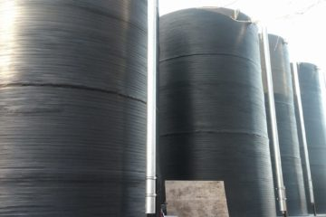 Vertikalni plastični rezervoari za vodu